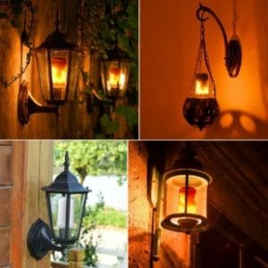 The Best LED Flame Bulbs - Flickering Effect Fire Lights for Indoor/Outdoor Use