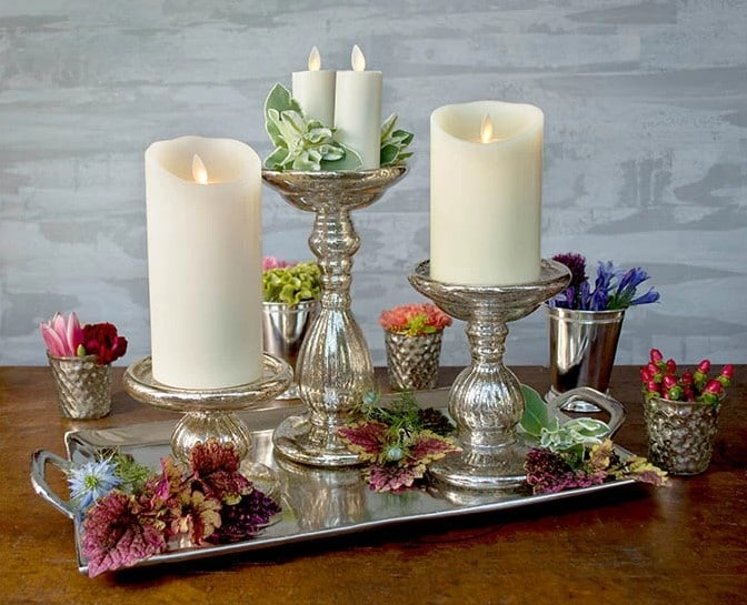 The Best Flameless Candles For Wedding, Parties, Holidays & Home Decorations