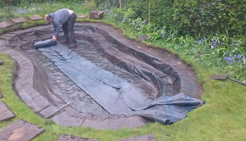 The Best Pond Liners For Koi Ponds, Water Gardens & Fountains